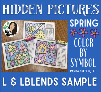 Spring Articulation Color by Symbol Hidden Images L and Lblends Sample