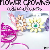 Spring Articulation Craft - Flower Crowns