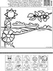 Spring Articulation Activity for Speech Therapy with Cut and Paste Spring Craft