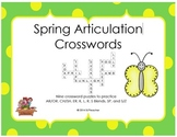 Spring Articulation Crosswords