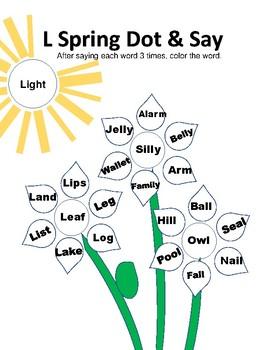Spring Articulation Dot & Say