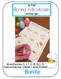 Spring Articulation Hatching Eggs BUNDLE [K, G, F, S, Sh, Ch, L, R & Blends]