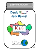Spring Articulation K & G Silly Jelly Beans [No Prep]