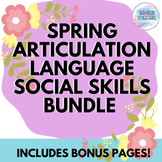 Speech Spring Articulation, Language, & Social Skills Bundle