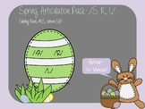 Spring Articulation Pack /S,R,L/- Speech Therapy