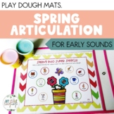 Spring Articulation Play Dough Mats
