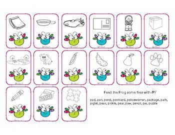 Spring Articulation Practice - Activities for speech sounds in all positions