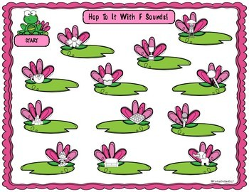 Spring Speech Therapy Articulation Resource - Frogs!