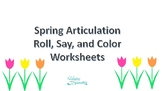 Spring Articulation Roll and Say