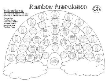 Spring Articulation Sh & Ch Rainbow