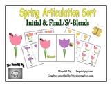 Spring Articulation Sort Initial and Final S Blends