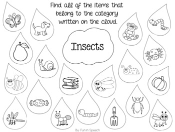 Spring Speech and Language Bundle Preview FREEBIE