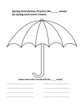 Spring Articulation Umbrella