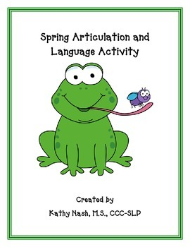 Spring Articulation and Language Activity