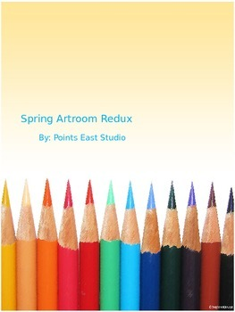 Spring Artroom Redux: 28 Days to a Clean Artroom!