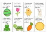 Spring Attribute Cards- Freebie!