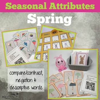 Spring Attributes Game: Compare/Contrast (includes a Cariboo option!)