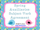 Spring Auxiliaries: Subject-Verb Agreement