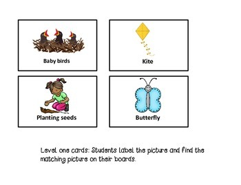 Spring BINGO: Language based game