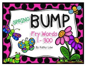 Spring BUMP - Sight Words