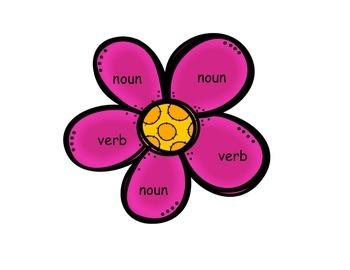 Spring BUMP {Verbs & Nouns}