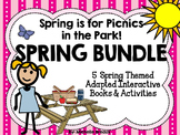 Spring BUNDLE of 5 Adapted Interactive Books {Autism, Earl