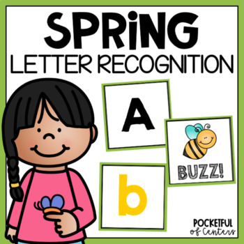 Spring BUZZ! Letter Recognition Game