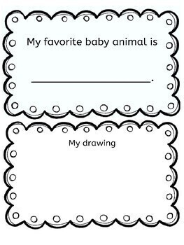 Spring Baby Animals Book