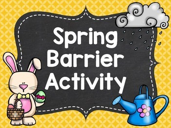 Spring Barrier Activity