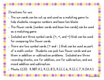 Spring Math Center Activities