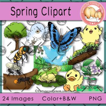Spring Basic Clip Art
