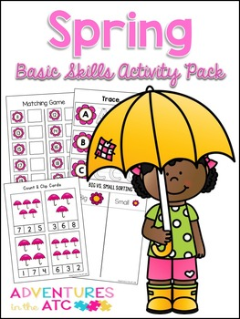 Spring Basic Skills Mega Activity Pack