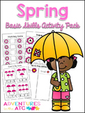 Spring Basic Skills Mega Activity Pack