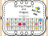 Spring Bee Bot Mat Flowers and Shapes