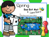 Spring Bee Bot Mat and Game Board