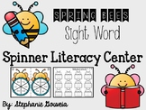 Spring Bees Sight Word Spinners Literacy Center