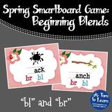 """Spring Beginning Blends Game: """"bl"""" and """"br"""" (Smartboard/Promethean Board)"""