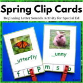 Spring Activity for Speech Therapy