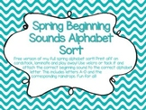 Spring Beginning Sound Sort