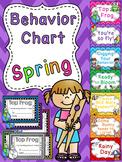 Spring Behavior Chart