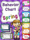 Spring Behavior Chart