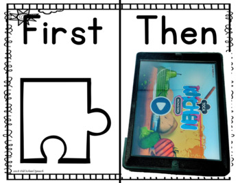 Spring Behavior Puzzles: Visuals for Task Completion