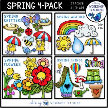 Spring 4-Pack Bundle