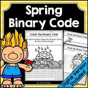 Spring Binary Code STEM Activities