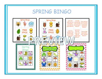 Fun Spring Bingo!