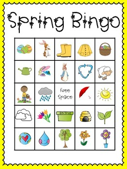 picture about Spring Bingo Game Printable identified as Spring Bingo (30 thoroughly substitute playing cards speaking to playing cards involved!)