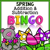 Spring Bingo {Addition and Subtraction within 10}