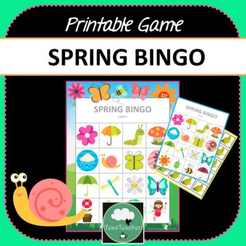 photo relating to Spring Bingo Game Printable named Spring Bingo - Lovable Spring Themed Bingo Video game Insects Bouquets Preschool K-2 children