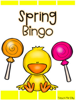 Spring Bingo FREEBIE