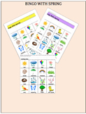 Spring Bingo Game  Deveploment of Vocabulary